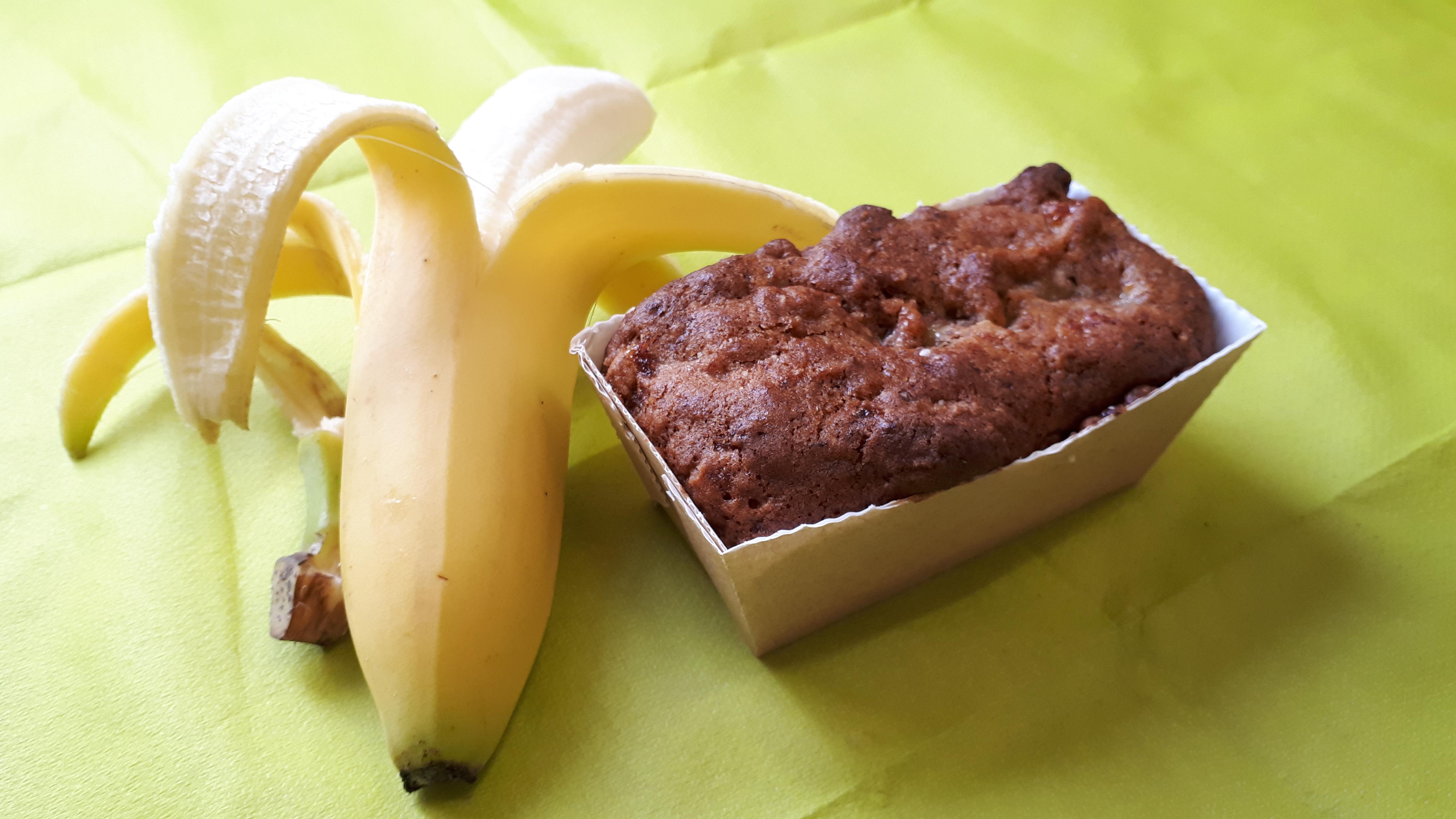 neu: veganes Bananenküchlein