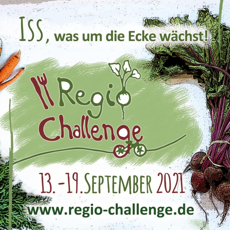 regio challenge 2021 – eine Woche lang essen was um die Ecke wächst